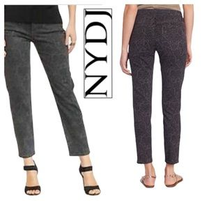 NYDJ Ankle Jeans in PEWTER Size 6 NWT